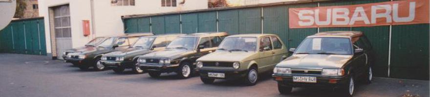 Subaru Vetragshändler Deutschland